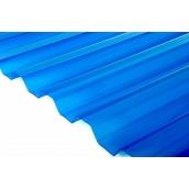 Лист Salux HR 70/18 1.8х0.9, синя прозора трапеція