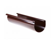 Жолоб Profil 130 мм 3 м коричневий