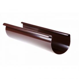 Желоб Profil 90 мм 3 м коричневый