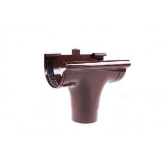 Воронка прохідна Profil 130/100 мм коричнева