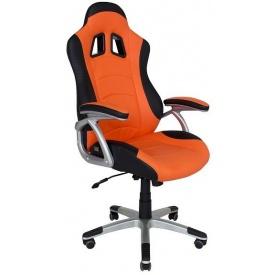 Геймерське крісло Ліберті Richman 1300х550х510 мм помаранчево-чорне