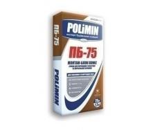 Клейова суміш Polimin Монтаж-блок плюс ПБ-75 25 кг