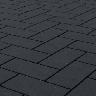 Клинкерная брусчатка Керамейя БрукКЕРАМ Классика БАЗАЛЬТ ПВ-1 М-650 200х100х45 мм
