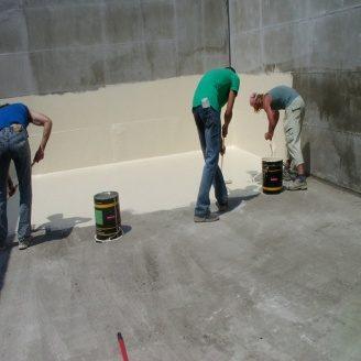Гидроизоляция резервуара жидкой полиуретановой мастикой