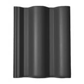 Цементно-піщана черепиця BRAAS Таунас Lumino 420х330 мм чорний