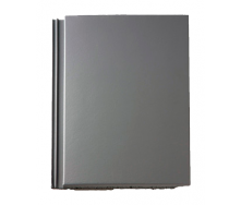 Цементно-піщана черепиця BRAAS Тегаліт 420х330 мм сірий