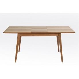 Раздвижной стол Лофт Рондо Микс 1400+400х750 деревянный