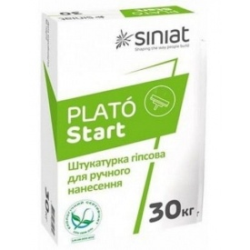 Шпаклівка стартова гіпсова PLATO START 30 кг