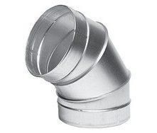Отвод защитный оцинкованный 100 мм