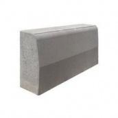 Бордюр дорожный бетонный сухопрессованный 100х30х15 см