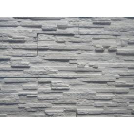 Гипсовая плитка Марсель 9x33x1,3 см белая