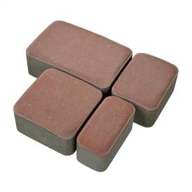 Тротуарная плитка Старый город бетонная сухопрессованная 4 см