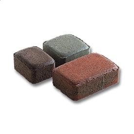 Тротуарная плитка Старый город бетонная сухопрессованная 4,5 см