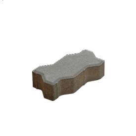 Тротуарна плитка Хвиля бетонна сухопресована 6 см