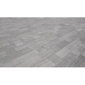 Тротуарная плитка Лайнстоун-60 бетонная сухопрессованная 6 см без фаски