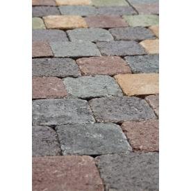 Тротуарная плитка Камень Винтаж бетонная сухопрессованная 15х15х6 см без фаски