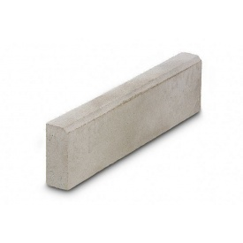 Бордюр тротуарный бетонный сухопрессованный 80х20х8 см