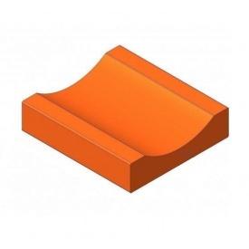 Водовідвідний жолоб БрукКерам клінкер 20х22х5,2 см