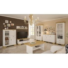 Модульная гостиная Мебель-Сервис Ирис дсп белая