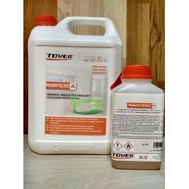 Двокомпонентний уретановий лак Tover Resin Glas 5 л