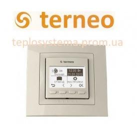 Терморегулятор для теплого пола TERNEO PRO unic cлоновая кость