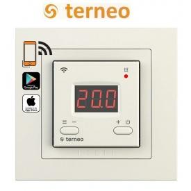 Терморегулятор для теплого пола Terneo AX unic WI-FI DS Electronics Слоновая кость