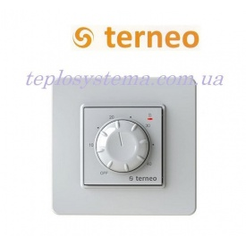 Терморегулятор Terneo rol для обогревателей белый