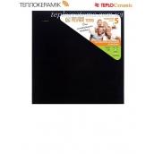 Керамічний обігрівач панель Теплокерамик ТЗ 370 чорна