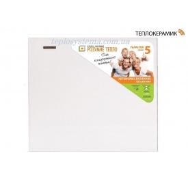 Керамический обогреватель панель Теплокерамик ТС 370 белая