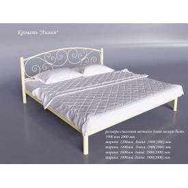Двоспальне ліжко Лілія Тенеро 1600х2000 мм світла