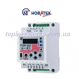 Програмований багатофункціональний таймер REV 302 з фотореле Новатек-Електро