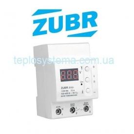 Реле напруги ZUBR D32t c термозахистом DS Electronics