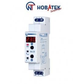 Реле контроля напряжения RN 118 10 А 2.3 кВт Новатек-Электро