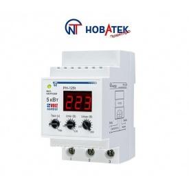 Реле контроля напряжения РН-125Т 25А Volt Control Новатек-Электро
