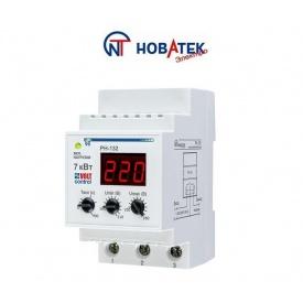 Реле контроля напряжения РН-132 32А Volt Control Новатек-Электро