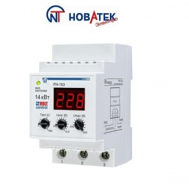 Реле контроля напряжения РН-163 63А Volt Control Новатек-Электро