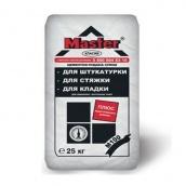 Цементно-піщана суміш Master Класик 1:3 25 кг