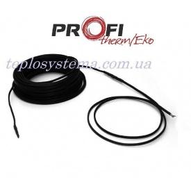 Двожильний нагрівальний кабель Profi Therm Eko плюс 2-23 780 Вт для систем антизледеніння