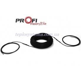 Одножильний нагрівальний кабель Profi Therm Eko плюс 23 140 Вт для систем антизледеніння