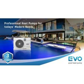 Инверторный тепловой насос для бассейна EVO EP-90i