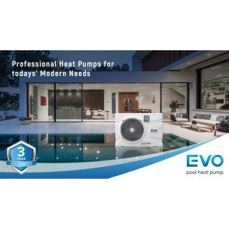 Інверторний тепловий насос для басейну EVO EP-190i