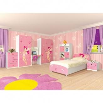 Детская Мир Мебели Мульти феи