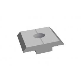 Прижим межпанельный Termico для солнечных панелей белый