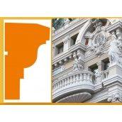 Декоративний фасадний молдинг Sangallo Монако 100х200 мм