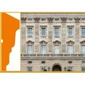 Декоративне фасадне підвіконня Sangallo Лондон 60х210 мм