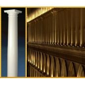 Фасадная колонна Sangallo гладкая 250 мм