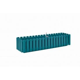 Вазон Plastkon FENCY 50х18,5х17 см бирюзовый (32819)