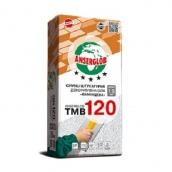 Штукатурка Anserglob TMB-120 камінцева 1,5 мм біла 25 кг