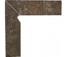 Клінкерна цоколь Paradyz Ilario brown lewy 8,1x30 см