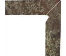 Клінкерна цоколь Paradyz Ilario brown prawy 8,1x30 см